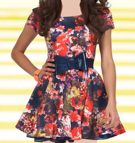 مدل لباس زنانه مدل لباس,کیف,کفش,جواهرات  , مدل پیراهن مجلسی کوتاه دخترانه