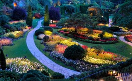 زیباترین باغ های جهان
