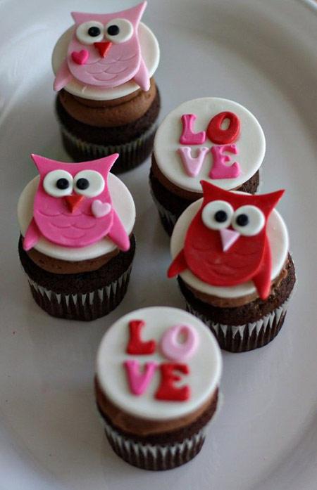 تزیین کیک و شیرینی برای روز ولنتاین شیرینی های ولنتاین, تزیین شیرینی ولنتاین