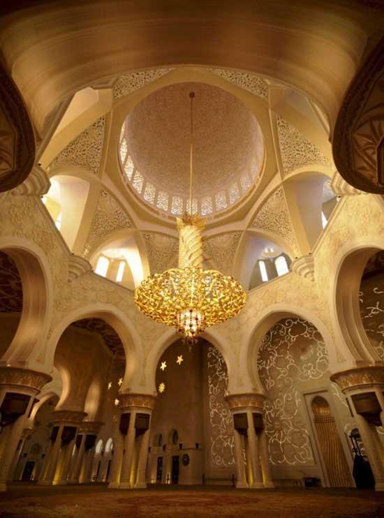 مسجد شیخ زاید بن سلطان نهیان- ابوظبی