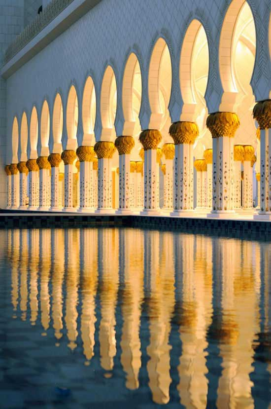 مسجد باشکوه شیخ زاهد بن سلطان نهیان - ابوظبی- سومین مسجد بزرگ جهان