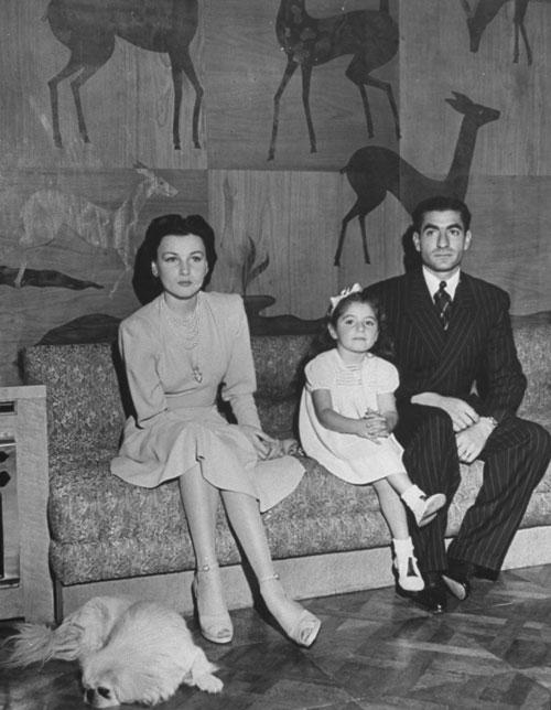 محمدرضاشاه پهلوی و شهناز