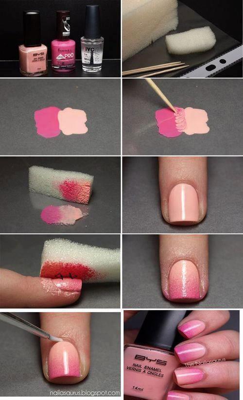 آرایش و زیبایی ناخن  , آموزش تصویری طراحی ناخن (1)