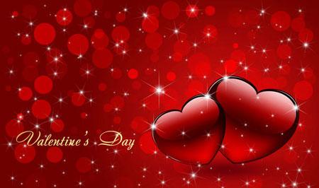 کارت پستال ولنتاین - کارت تبریک ولنتاین - روز عشاق - ولنتاین
