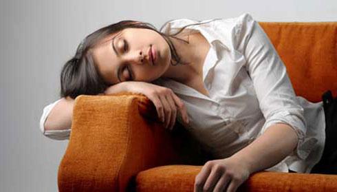 احساس خستگی در طول روز