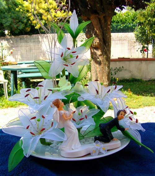 گل جورابی - گلسازی