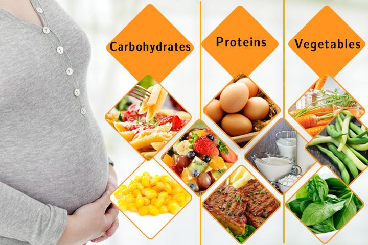 اشتباهات تغذیه ای زنان باردار - تغذیه دوران بارداری