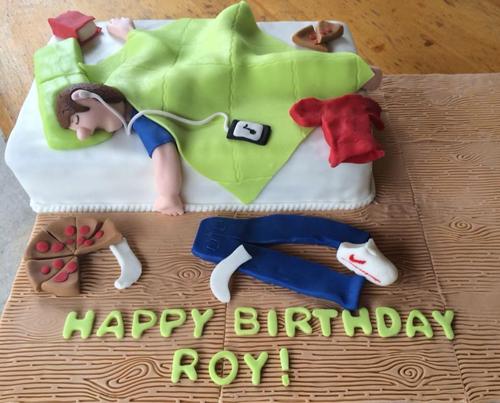 نان، شیرینی، دسر  , نمونه هایی از کیک تولد پسرانه