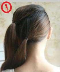 آموزش بستن مو - آموزش آرایش مو - آموزش شینیون ساده - روش بستن موهای بلند