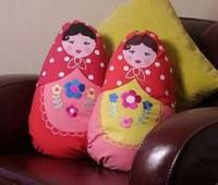 آموزش دوخت کوسن عروسکی دوخت کوسن،کوسن عروسکی،خیاطی