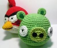 آموزش بافت عروسک پرندگان خشمگین بافت عروسک،بافت پرندگان خشمگین،عروسک