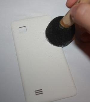 آموزش دکوپاژ  , آموزش دکوپاژ : تزیین قاب موبایل