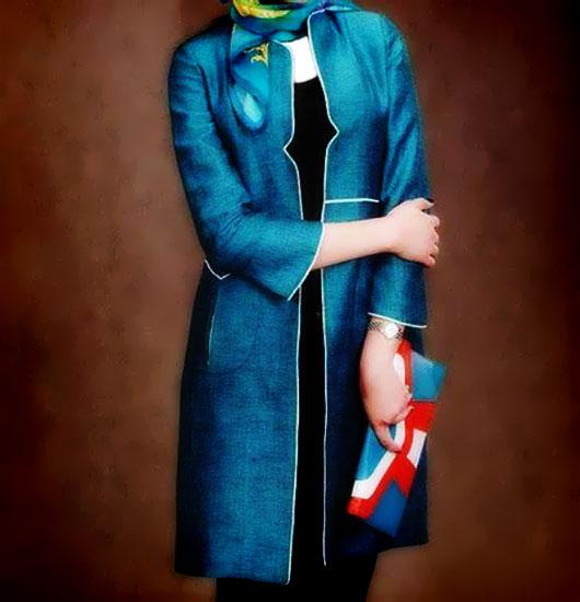 جدیدترین مدل های مانتو عید 94