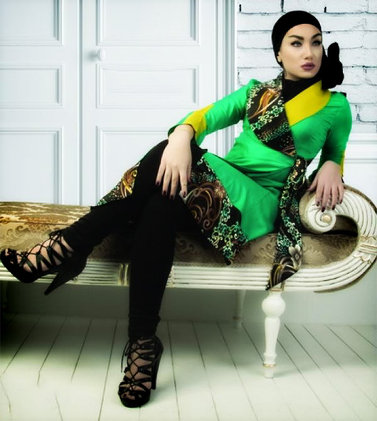 گالری مدل مانتو های شیک و جدید زنانه زمستان 93