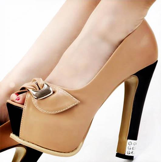 کفش مجلسی - کفش زنانه مجلسی - کفش پاشنه بلند