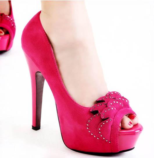 کفش پاشنه بلند - کفش مجلسی - کفش مجلسی زنانه