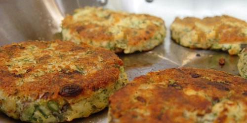 آشپزی آسان دستور پخت غذا  , طرز تهیه کتلت سالمون یونانی