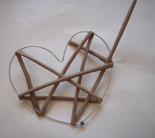 آموزش ساخت قلب تزئینی با روزنامه, هدیه ولنتاین , هدیه روز عشق , هنر بازیافت, کاردستی با روزنامه, کاردستی کاغذی , هدیه عاشقانه