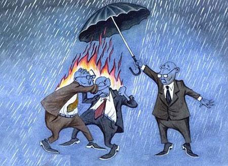 کاریکاتورهای پرمعنا و جالب - کاریکاتورهای تفکر برانگیز
