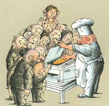 عکس و کلیپ کاریکاتور  , کاریکاتورهای مفهومی 5