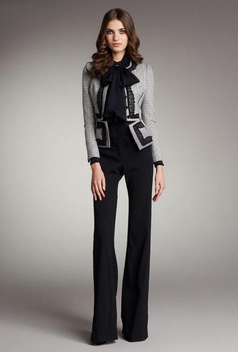 مدل کت و شلوار شیک و زیبای زنانه - مدل های جدید کت و شلوار زنانه