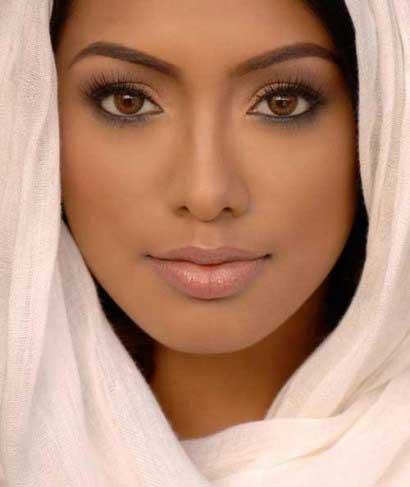 تصاویری از آرایش چهره ویژه پوست های تیره - آرایش زیبا برای پوست تیره