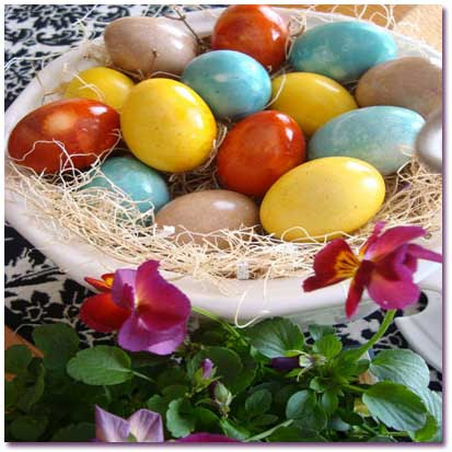 چگونه تخممرغهای هفت سین را رنگ کنیم؟