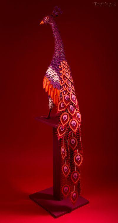 مجسمه های زیبای چرمی, تندیس از چرم هومس,تندیس, تندیس چرمی, Lucie Thomas  , Thibault Zimmermann