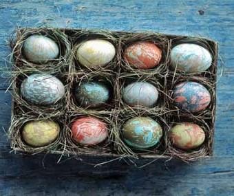 تخم مرغ مرمری ,رنگ کردن تخم مرغ , رنگ زدن تخم مرغ ,تزیین تخم مرغ سفره هفت سین ,تزیین سفره هفت سین , تزیینات هفت سین , تخم مرغ هفت سین,آموزش رنگ کردن تخم مرغ