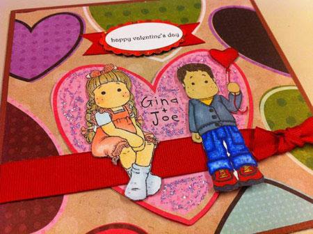 کارت پستال ولنتاین 2015,کارت تبریک ولنتاین