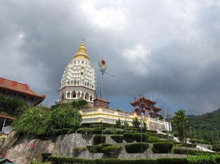 معبد کک لوک سی در مالزی,  کک لوک سی,مالزی , معبد ,اماکن مذهبی در مالزی,دیدنی های مالزی