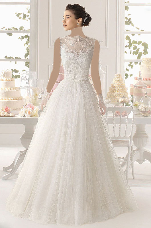 مدل لباس عروس و زیورآلات نو عروس  , جدیدترین مدل های لباس عروس 3
