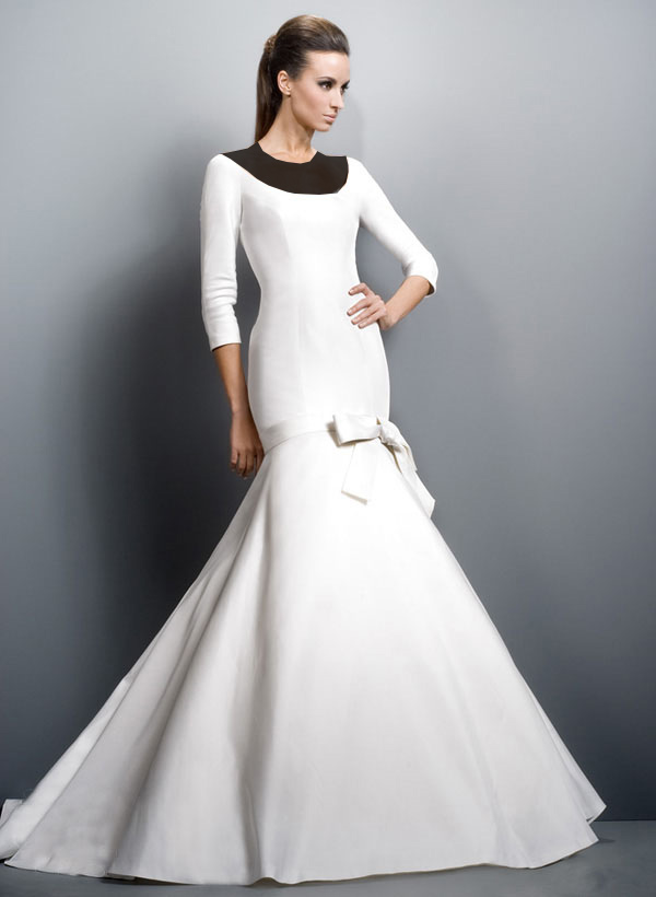 Hotnaz com   b4924e7b01271ab3cac6ec2015b2f179 مدل های مختلف لباس عروس و یقه لباس عروس