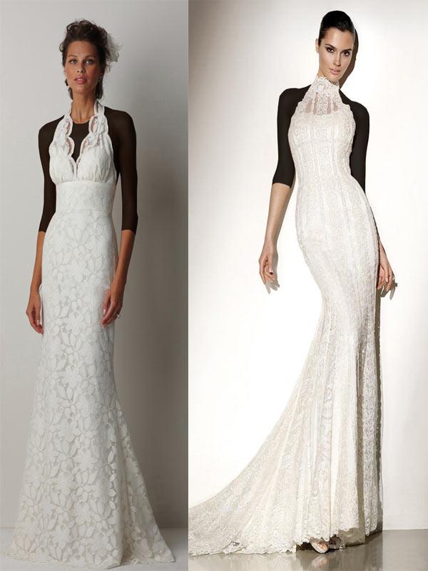 Hotnaz com   a355f99e16f6c88a7fc0d763ce4e5ec7 مدل های مختلف لباس عروس و یقه لباس عروس