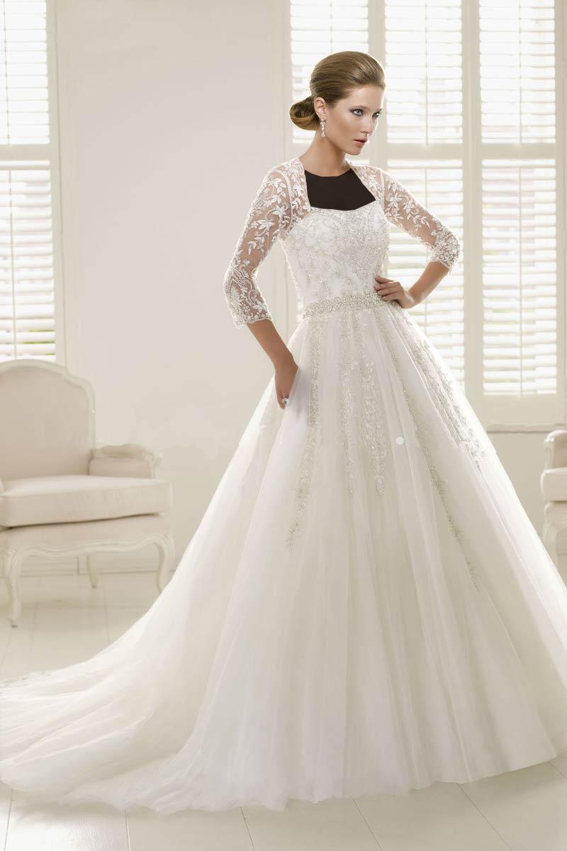 Hotnaz com   395cce3184eac3111158bcf327df31cc مدل های مختلف لباس عروس و یقه لباس عروس