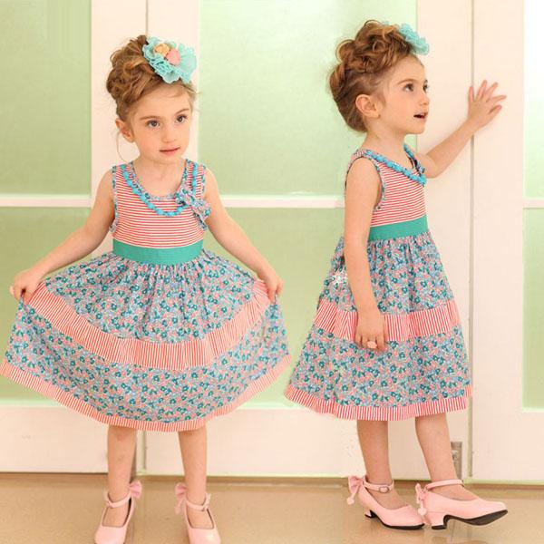 مدل لباس دخترانه - پیراهن دخترانه
