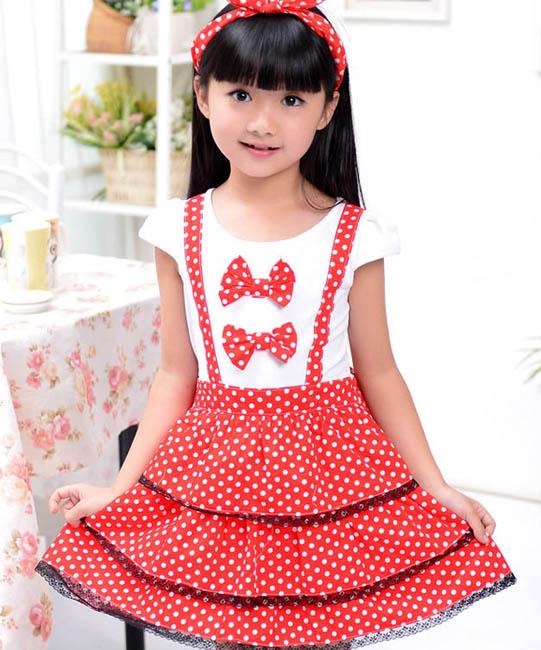 پیراهن مجلسی -- لباس دخترانه- مدل پیراهن بهاری و تابستانی - مدل لباس بچگانه