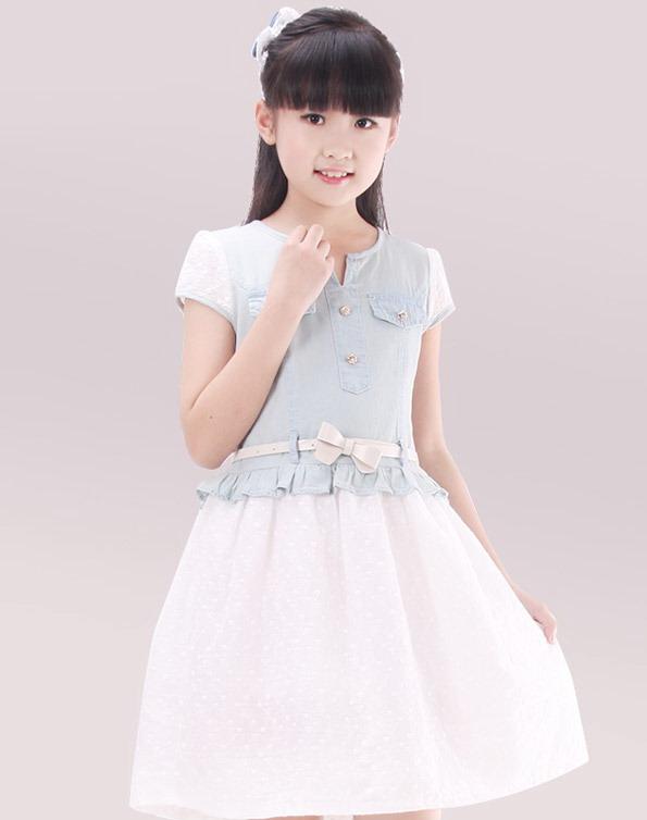 مدل لباس های دخترانه - پیراهن دخترانه - پیراهن بچگانه - پیراهن طرح لی - سارافان دخترانه - پیراهن مجلسی بچگانه