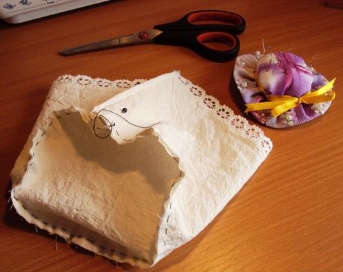 آموزش هنرهای دستی  , ساخت جعبه لوازم و جاسوزنی