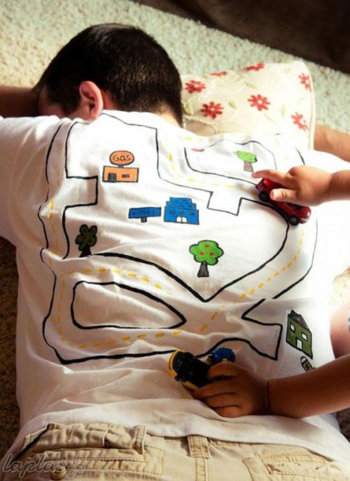 خلاقانه ترین طرح های تیشرت!