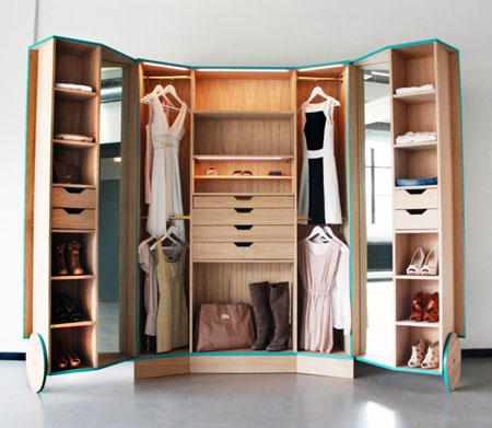 خانه و خانواده دکوراسیون  , مدل دکوراسیون کمد لباس 2