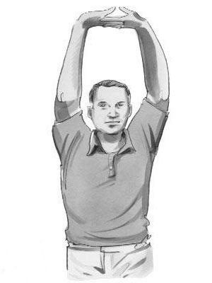 حرکات اصلاحی افتادگی شانه ها,حرکات اصلاحی, افتادگی شانه, درمان افتادگی شانه,عوارض افتادگی شانه,تمرینات ورزشی,تقویت عضلات بالابرنده کتف