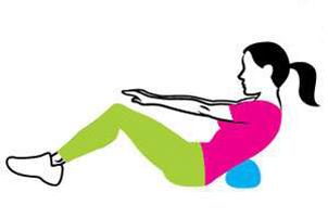 کوچک کردن شکم ,موثرترین حرکات برای کوچک شدن شکم