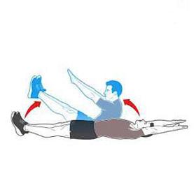 کوچک کردن شکم ,موثرترین حرکات برای آب کردن شکم, حرکات