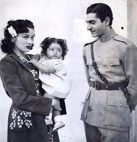 عکس همسران محمدرضا پهلوی ,عکس ,همسران ,محمدرضا پهلوی, عکس محمدرضا پهلوی ,فوزیه