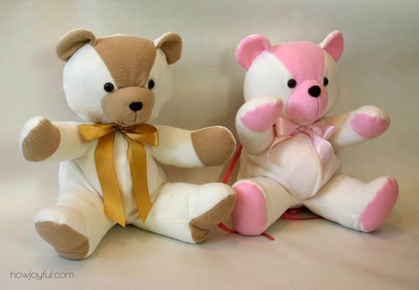 آموزش دوخت عروسک خرس تدی