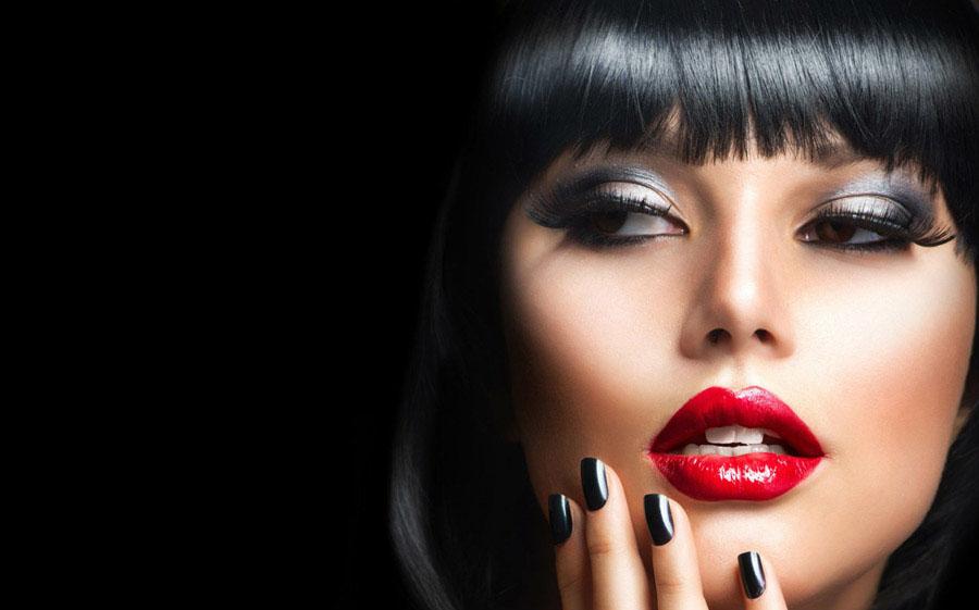 میکاپ صورت - آرایش چهره - آرایش های زیبا - مدل های جدید آرایش صورت