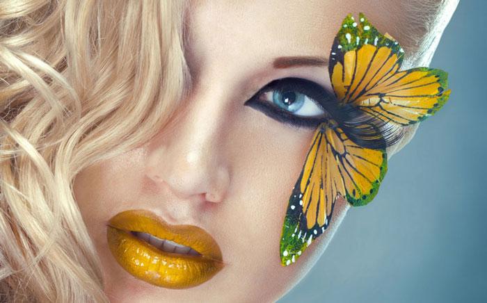 میکاپ صورت - آرایش چهره - آرایش های زیبا - مدل آرایش صورت