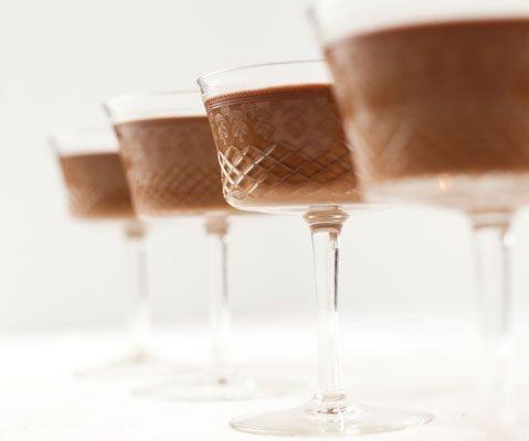 دسر - دسر مجلسی - دسر خوشمزه - پاناکوتای شکلاتی- طرز تهیه پاناکوتای شکلات و قهوه
