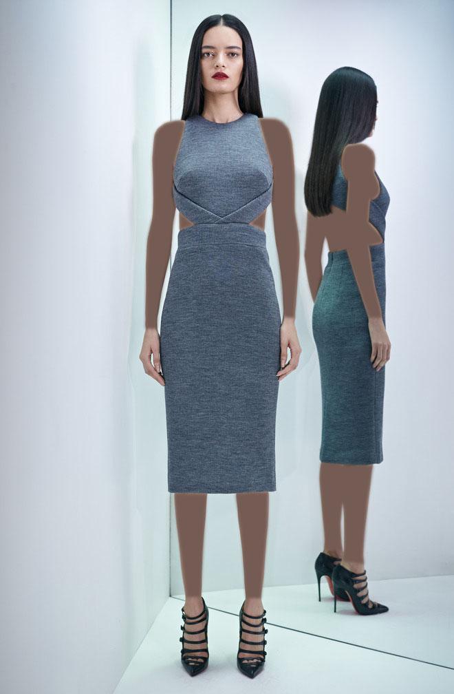 مدل لباس زنانه  , عکس مدل لباس مجلسی زنانه برند Cushnie et Ochs  سال 2017
